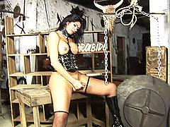Mistress Yara Awaits Her Next Victim
