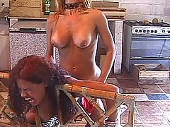Blown away by her cock