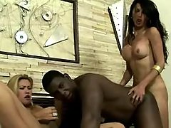 Handsome young tranny takes it anally