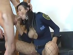 Latina shemale gets fucked by guy
