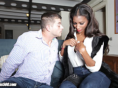 Watch the horny Natassia Dreams show our main man Roberto a great time off his